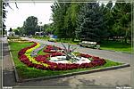 клумбы на набережной Волгограда фото