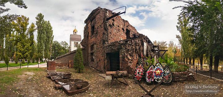 Руины лаборатории завода «Красный Октябрь»