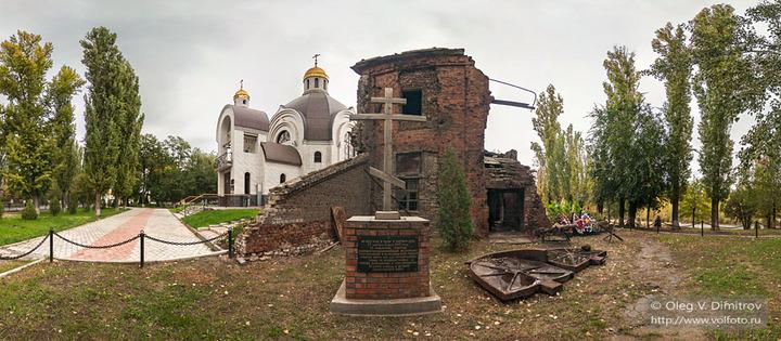 Закладной крест храма Георгия Победоносца
