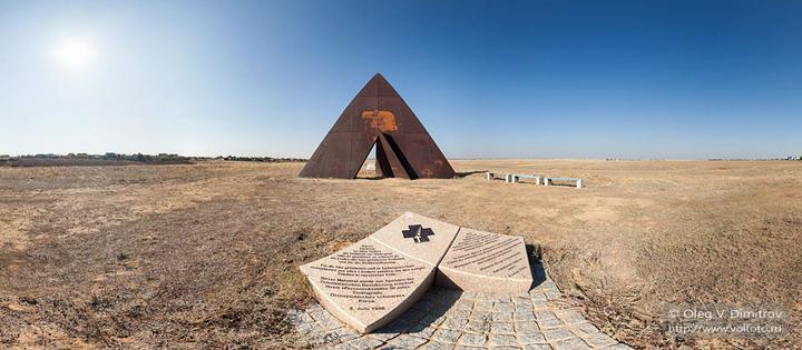Памятник всем жертвам Сталинградской битвы