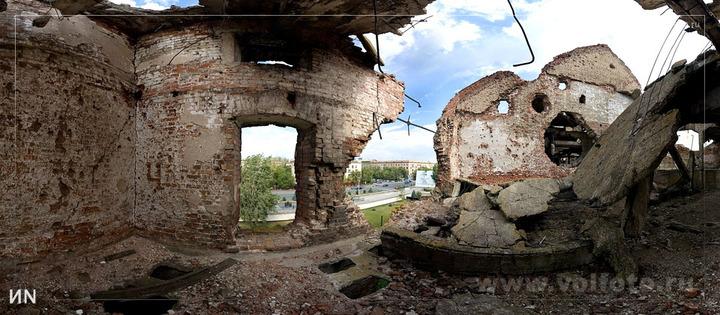 Разрушения мельницы Гергардта