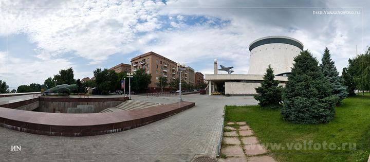 У музея-панорамы