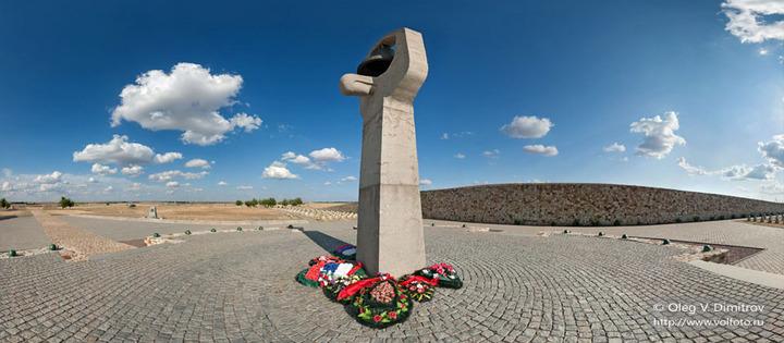 Воинское кладбище в Россошке
