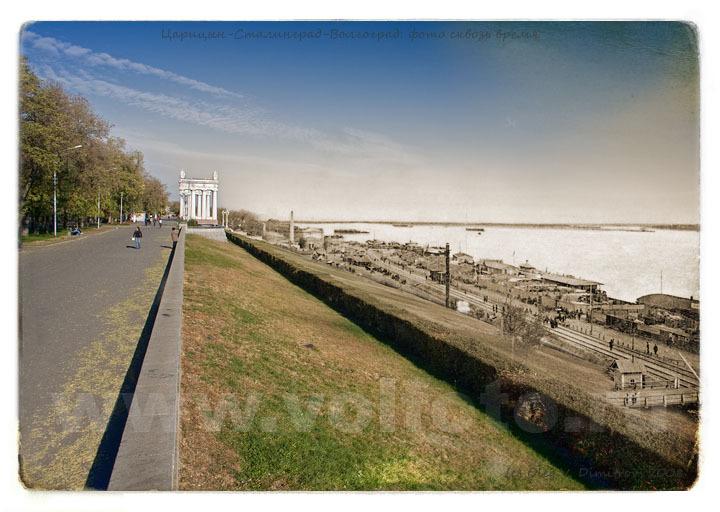 Набережная Царицына-Волгограда фото