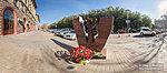 Памятник волгоградским медикам