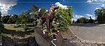 Памятник собакам-истребителям танков