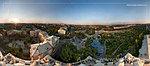 Панорама с дома-башни пр. Ленина 93