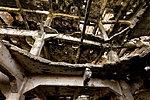 Разрушения внутри мельницы