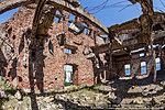 Руины пятого этажа мельницы
