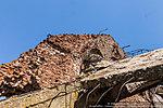 Руины крыши мельницы