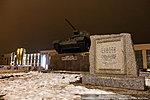 Т-34 на площади Дзержинского