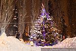 Новогодняя елка на Аллее Героев