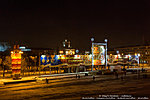 Вид на площадь Павших борцов