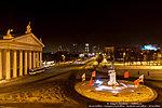 Театр НЭТ и памятник Александру Невскому