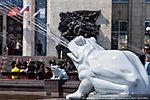 Лягушка фонтана «Детский хоровод»