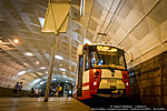 Трамвая на станции