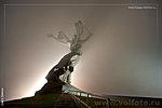 Родина-мать в тумане фото