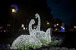 Светодиодные лебеди