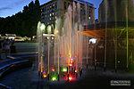 фонтан Искусство ночное фото