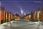 аллея тополей ночью фото