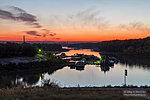 Закат над Сарептинским затоном
