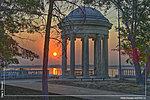 Волгоград ротонда рассвет фото