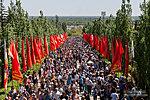 Тысячи людей приходят 9 мая на Мамаев курган