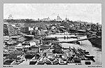 Вид на город с Волги