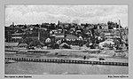 Вид на город с реки Царицы