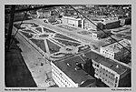 Вид на площадь Павших борцов с самолета