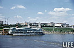 Вид на Сталинград с теплохода