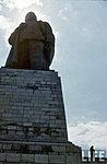 У подножья памятника Сталину