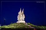 Пятиморск, Соединение фронтов, ночное фото