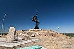 Позади памятника казачеству