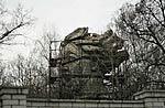 голова Родины-матери на даче Вучетича фото