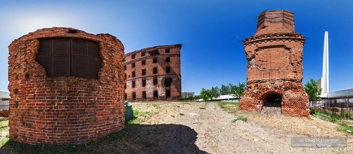 Постройки у здания мельницы