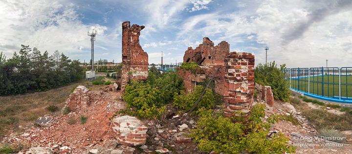 Руины командного пункта 138-й дивизии