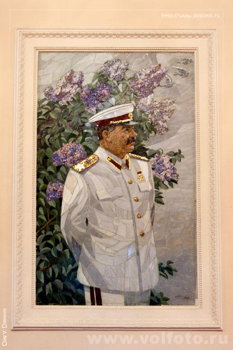 Портрет Сталина в планетарии фото