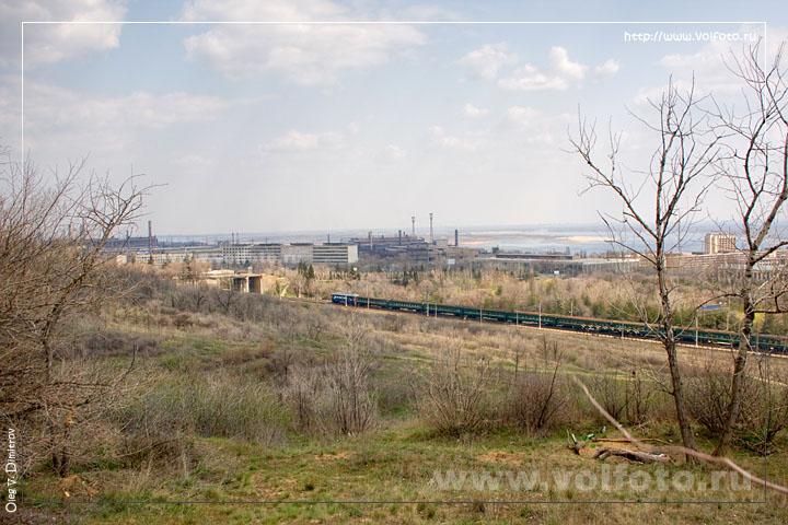 Вид на железную дорогу фото