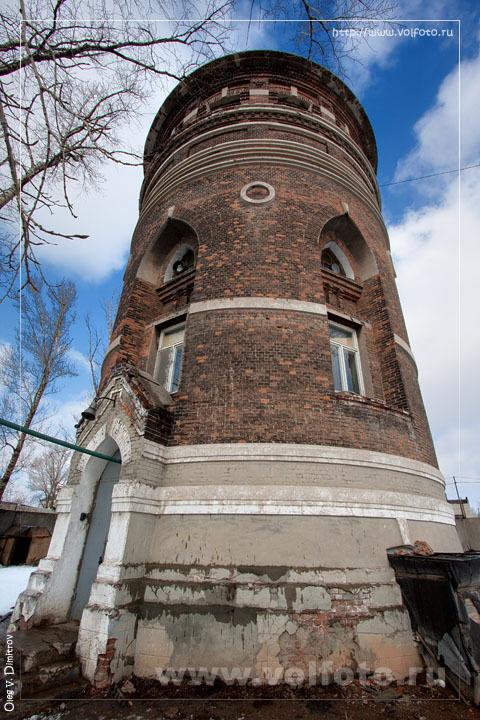 """Водонапорная башня станции """"Сарепта"""" фото"""