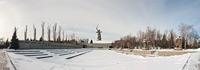 Зимний Мамаев курган - виртуальный тур