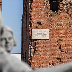 Исторический заповедник - руины мельницы им. Грудинина - фото