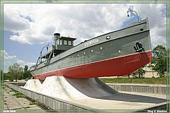 пожарный пароход Гаситель фото