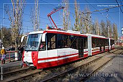 Новое лицо скоростного трамвая (Волгоград, Скоростной трамвай) .