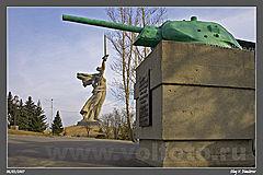 Танковая башня на Мамаевом кургане фото