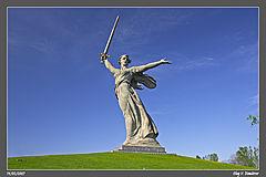 фото Волгограда - Мамаев курган