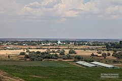 село Карповка фото с вертолета
