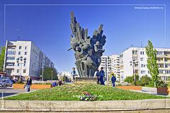 мемориал защитникам на улице Чуйкова