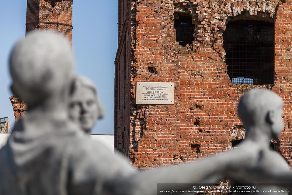 Исторический заповедник - руины мельницы им. Грудинина фото