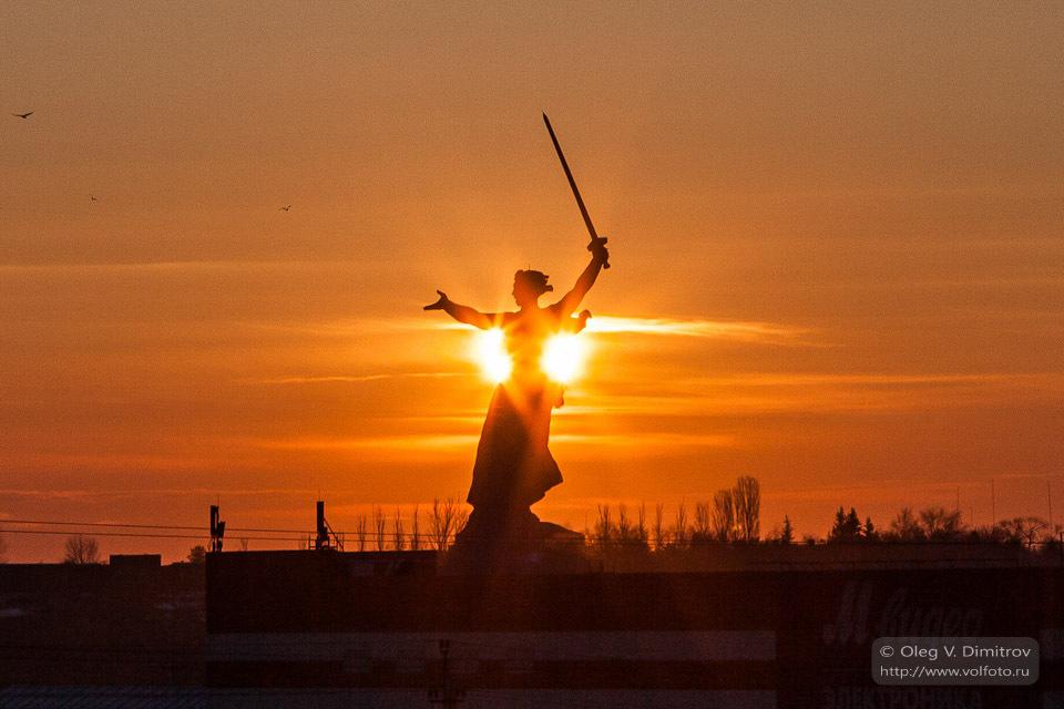 Восход солнца над Курганом фото
